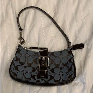 Vintage coach buckle bag